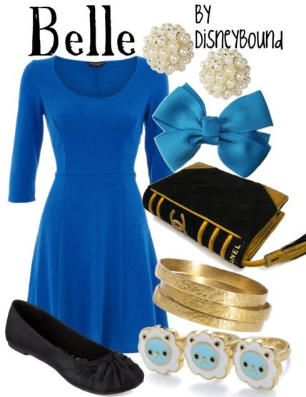 Disney Inspired Outfits Belle disney bound – Podke...