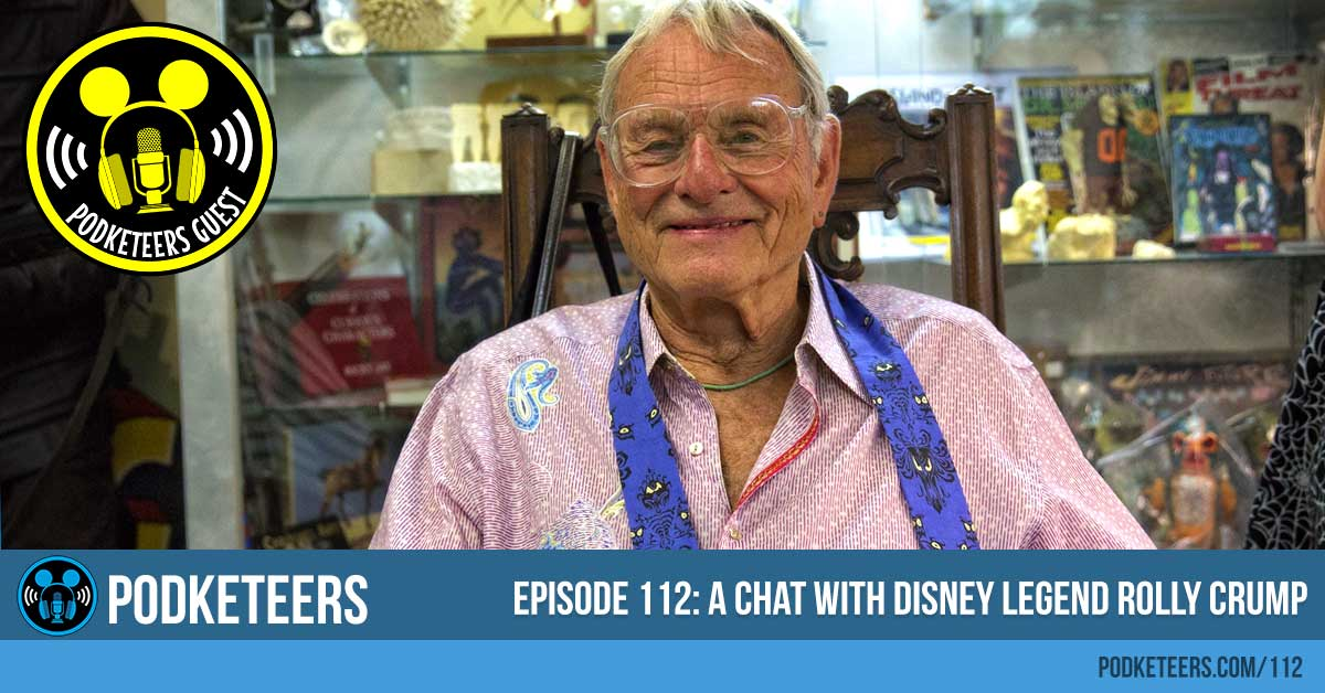 Ep112: A Chat with Disney Legend Rolly Crump