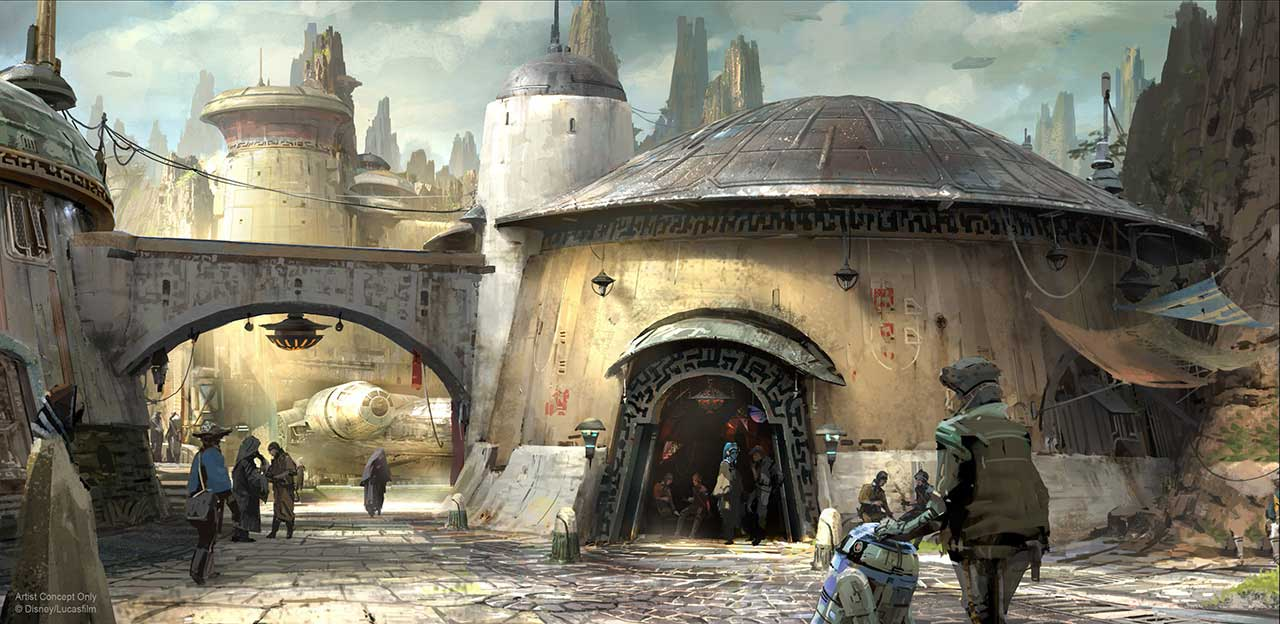 Star Wars Land details revealed!