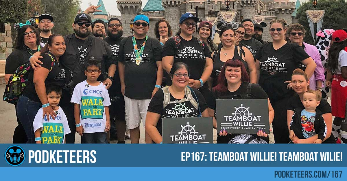 Ep167: Teamboat Willie! Teamboat Willie!