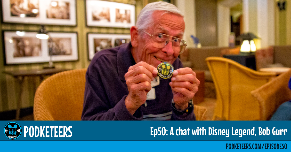 Ep50: A chat with Disney Legend, Bob Gurr