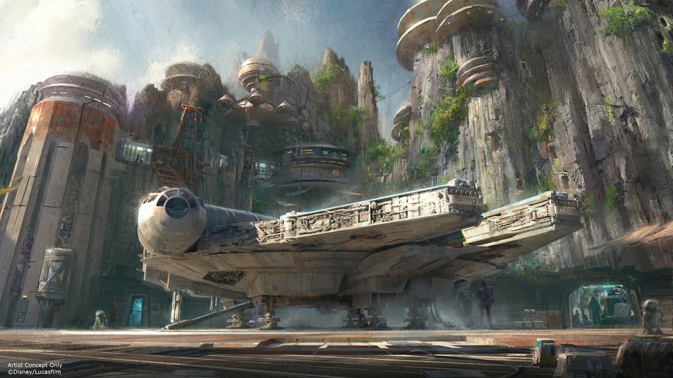 Dedication Ceremony for Star Wars: Galaxy's Edge at Disneyland