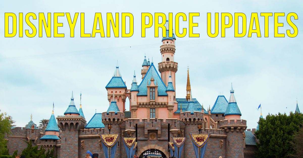 Disneyland Price Increase (Feb 2018)