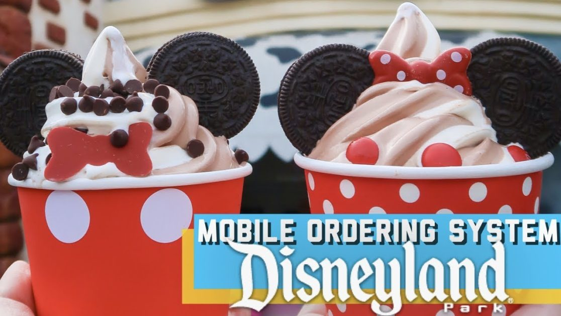 Disney For2: How to- Mobile Ordering Service (Using the Disneyland app)