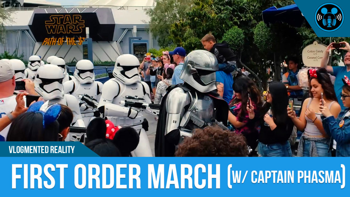 VLOG: MARCH OF THE FIRST ORDER (feat. CAPTAIN PHASMA)