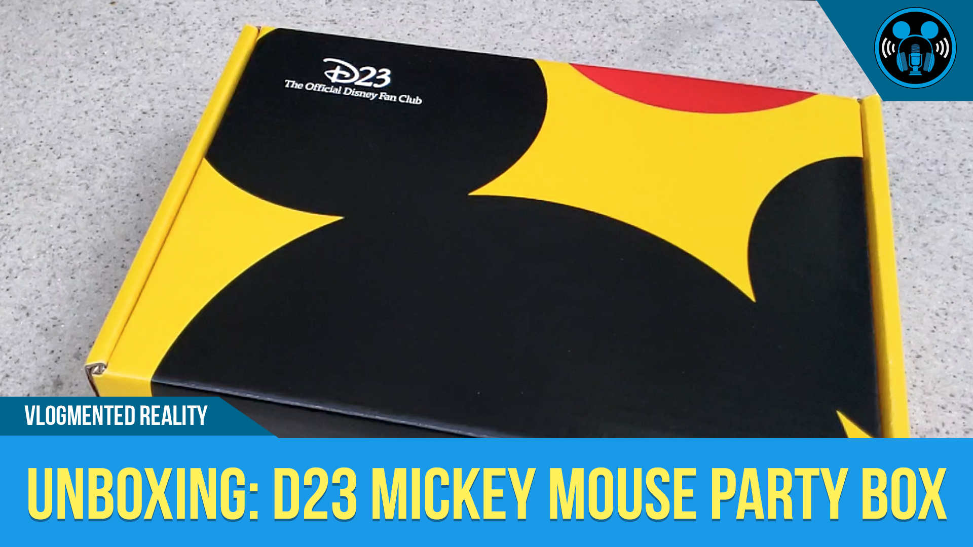UNBOXING: Disney D23 Mickey Mouse 90th Birthday Party Kit!