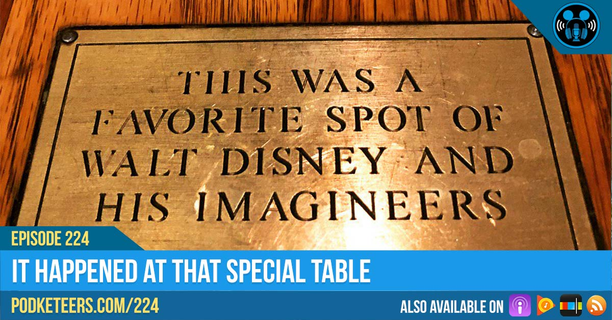 Ep224: It Happened At That Special Table