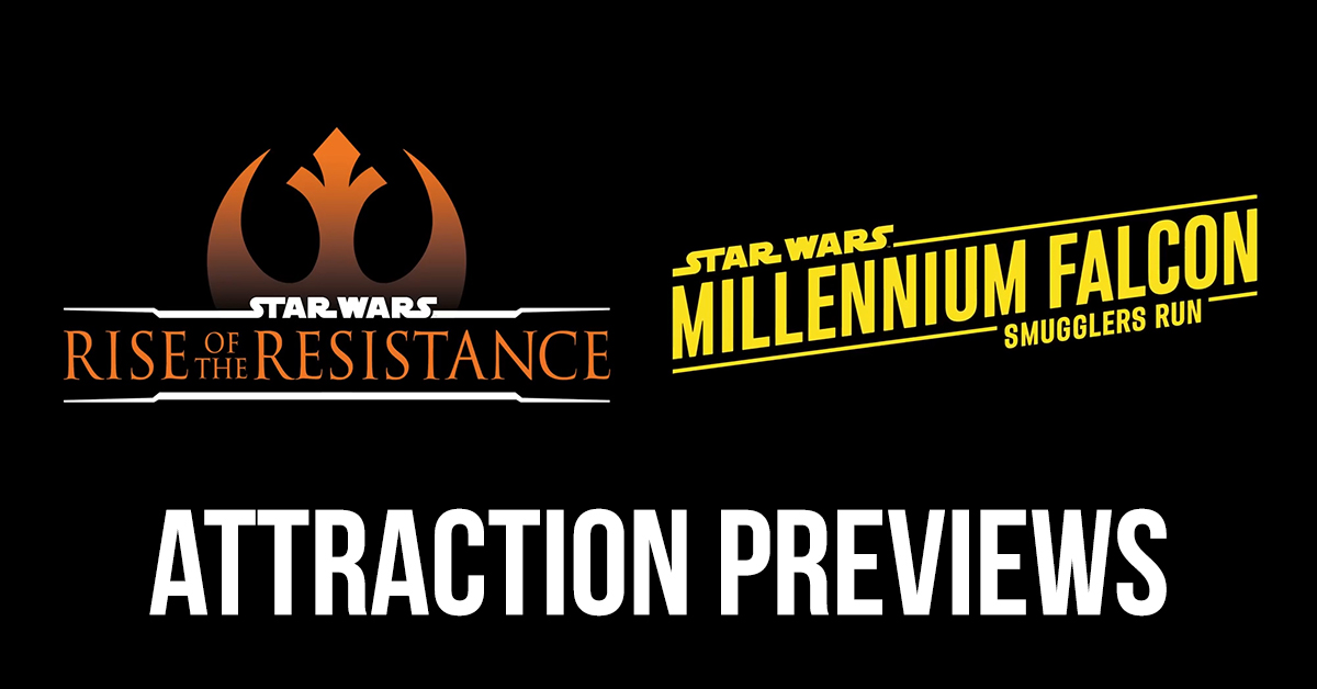 Galaxy's Edge new attraction previews!