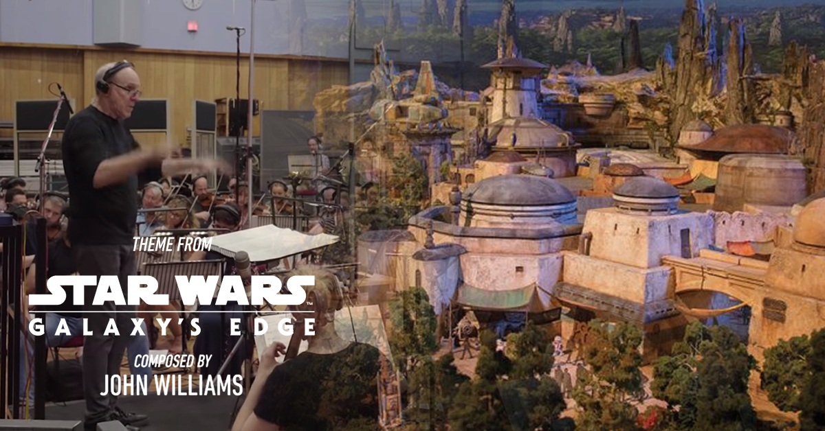 John Williams creates original scores for Star Wars: Galaxy's Edge