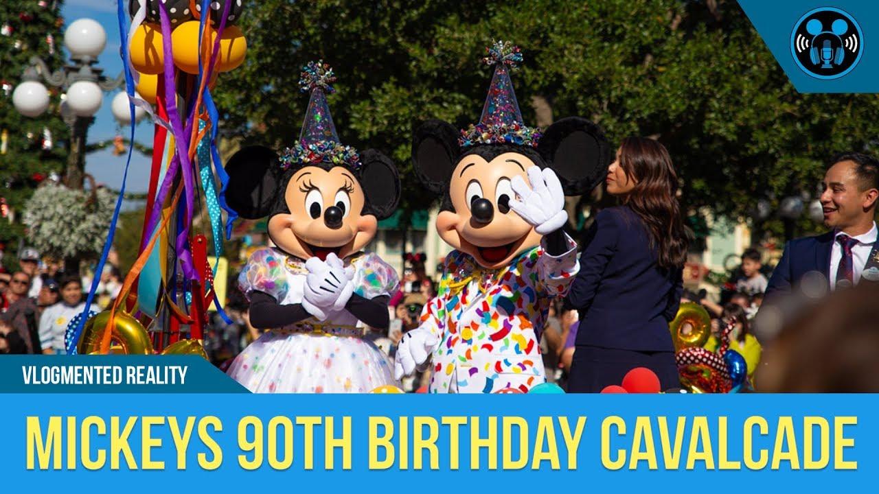 Mickey's 90th Birthday Cavalcade