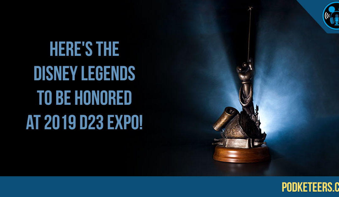Here's the 2019 Disney Legends to Be Honored at D23 Expo!