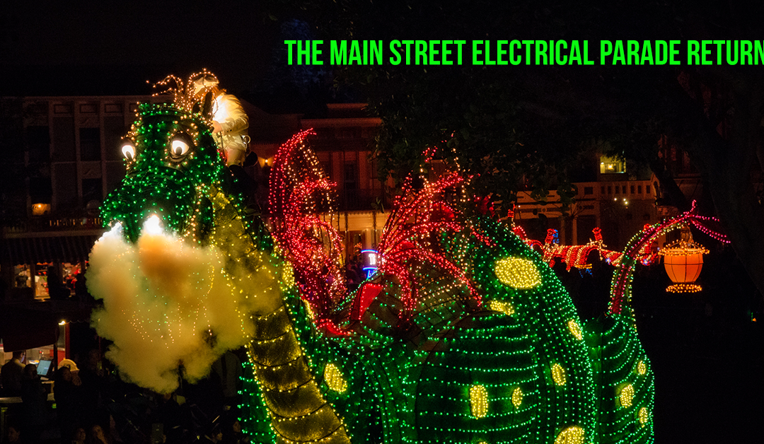 Main Street Electrical Parade Returns + LIVESTREAM (for special summer engagement)