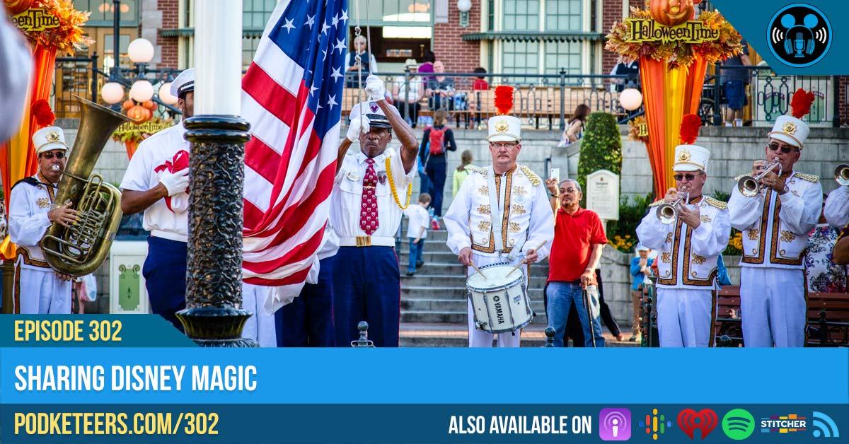 Ep302: Sharing Disney Magic