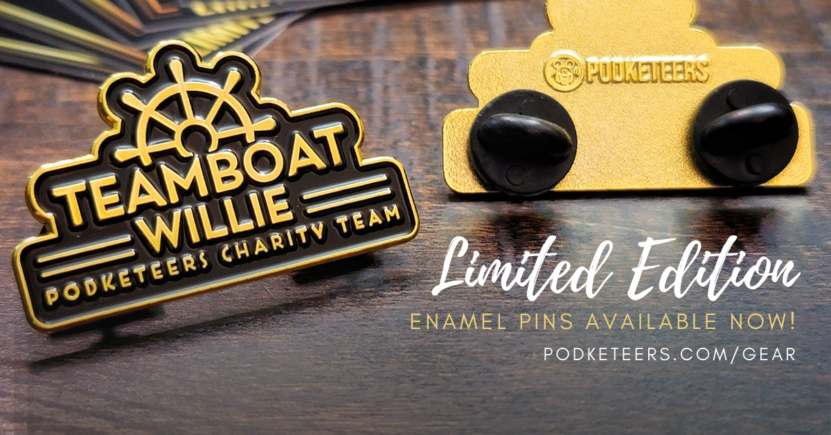 Limited Edition Teamboat Willie Pins Available Now!